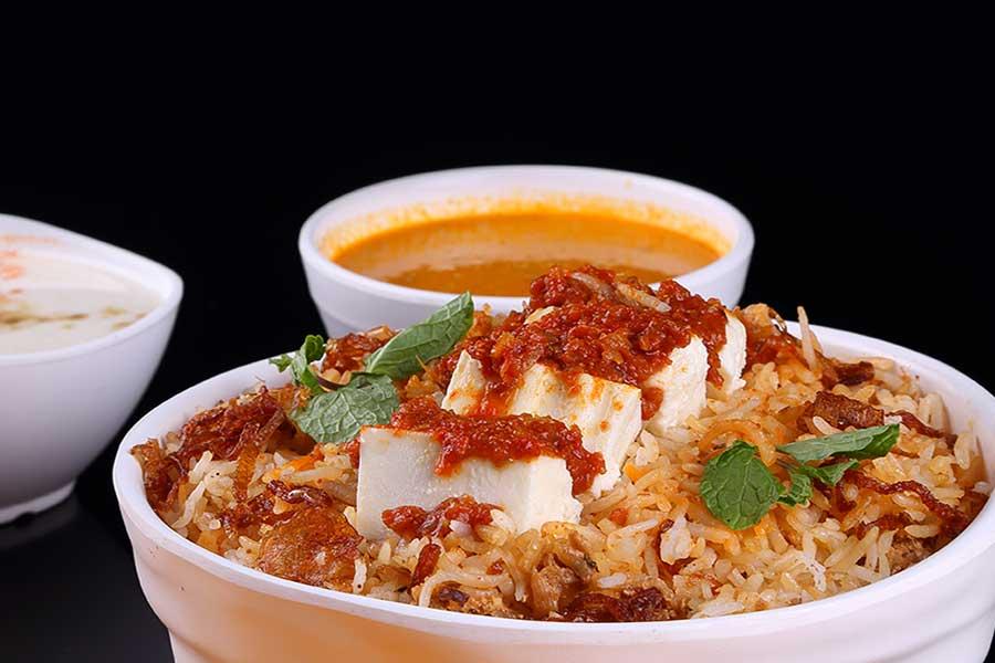 Rice/Paratha